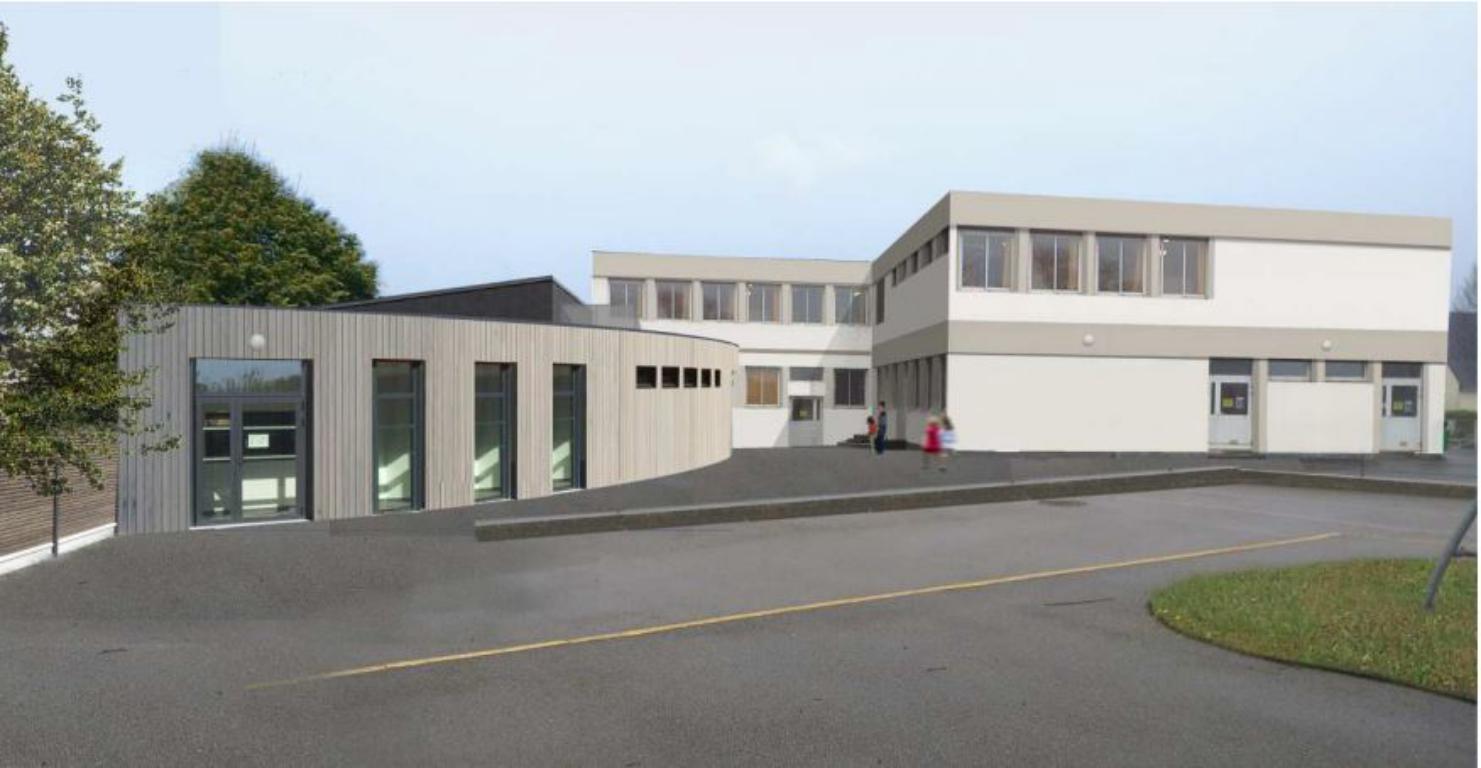 Projet d'extension école guipavas