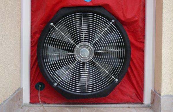 Permeabilite ventilateur